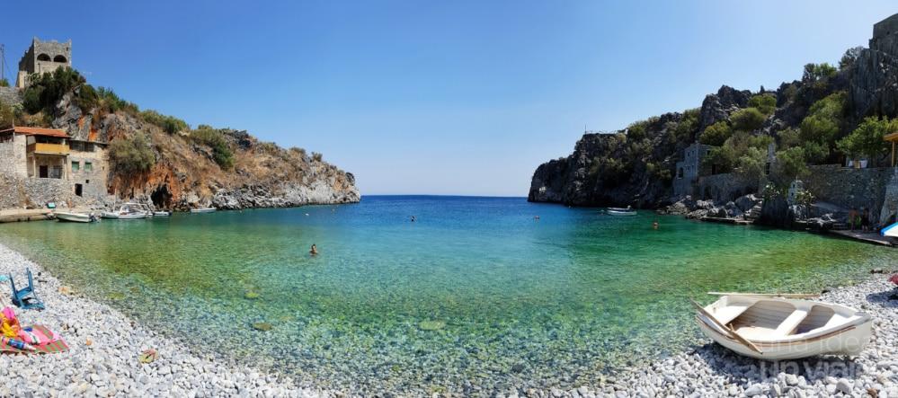 Cala en Mani, Peloponeso