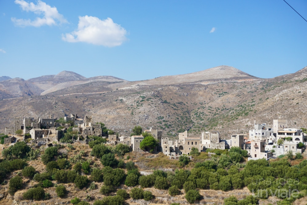 Mountanistika, pueblo con torres
