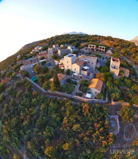 Vistas del Hotel Antares Mani y Areopolis