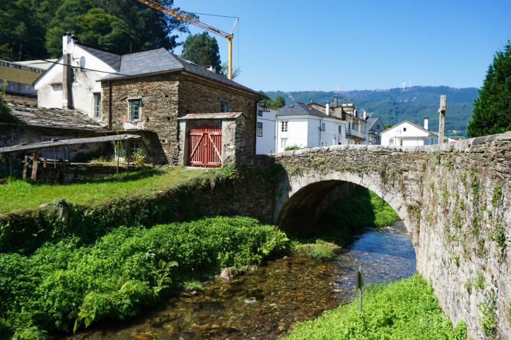 Paseo por el río en Mondoñedo
