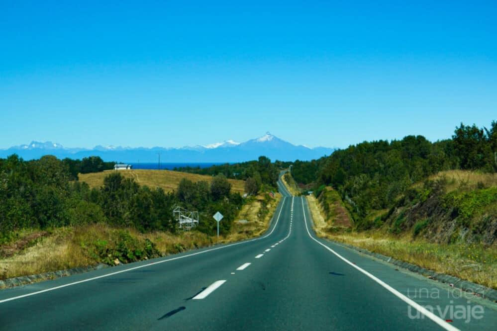 Carreteras de Chiloé, ruta a Queilén