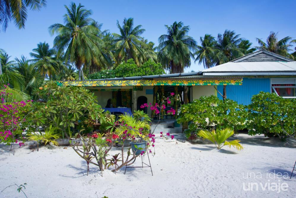 Alojamiento Polinesia Francesa: Tikehau
