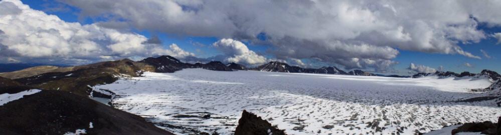 La Araucanía: Nevados de Sollipulli