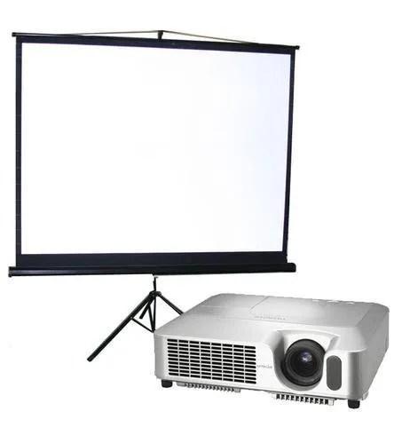 Projektor i platno - najam - rent