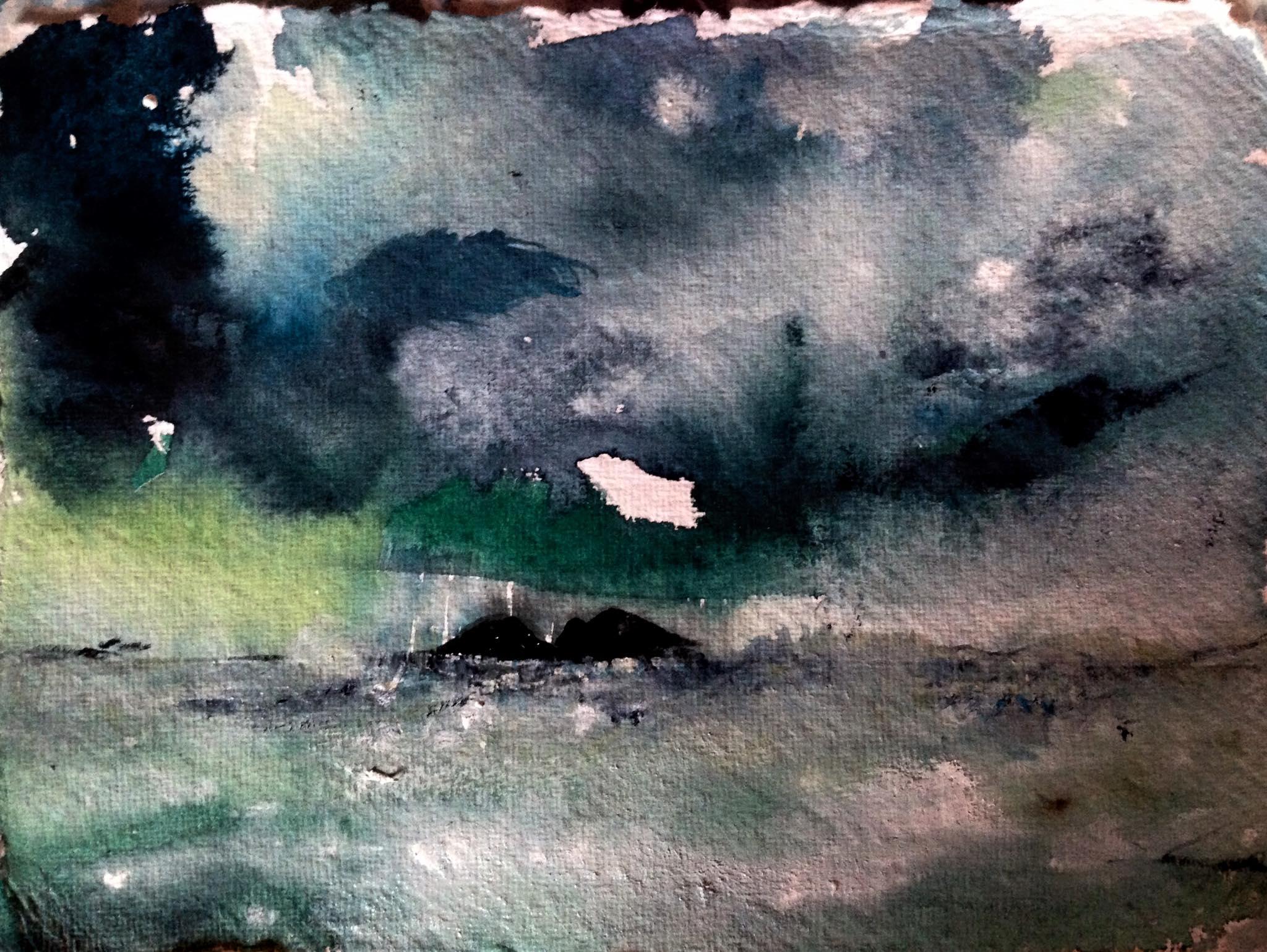 stormy green