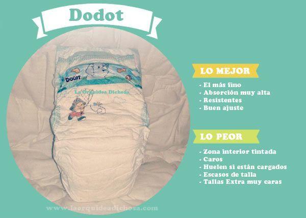 comparativa los mejores pañales: Dodot