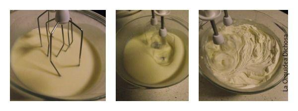 ganaché de chocolate blanco