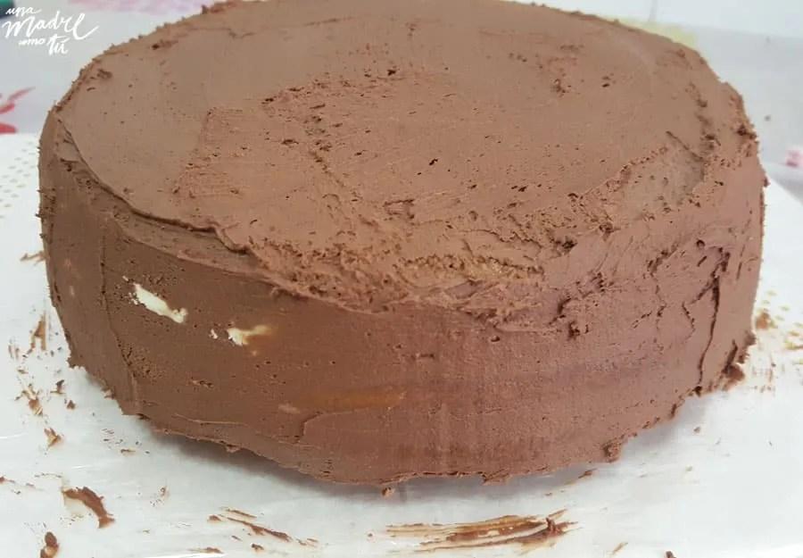 ganache de chocolate negro