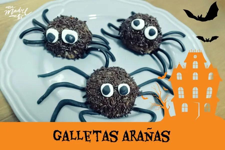 Galletas de Halloween arañas terroríficamente ricas (y fáciles)