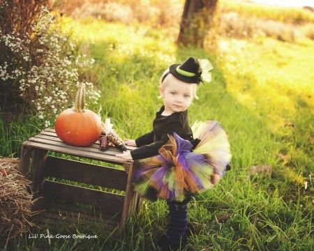 disfraz casero de bruja para niña
