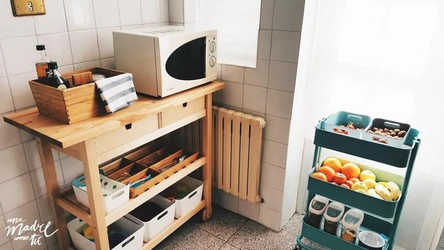 ambiente preparado montessori cocina