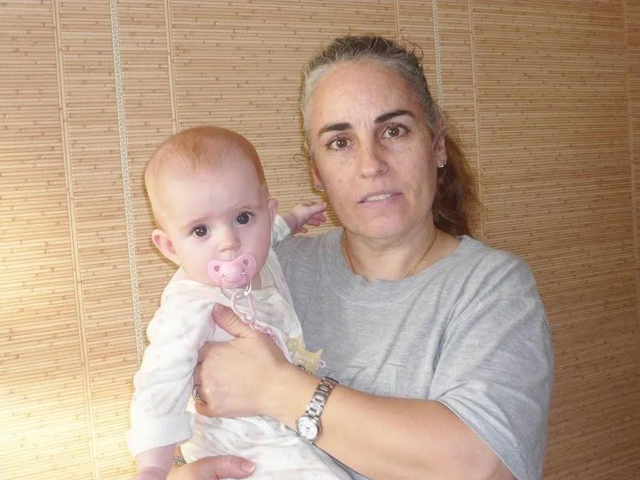 Teresa y su hja Karla