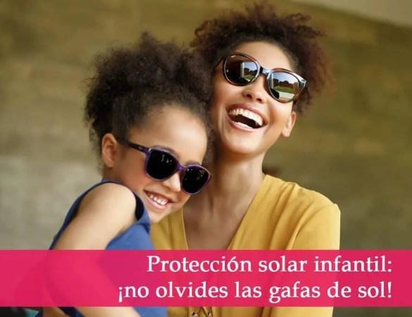 ¿Sabías que los niños también deben usar gafas de sol?