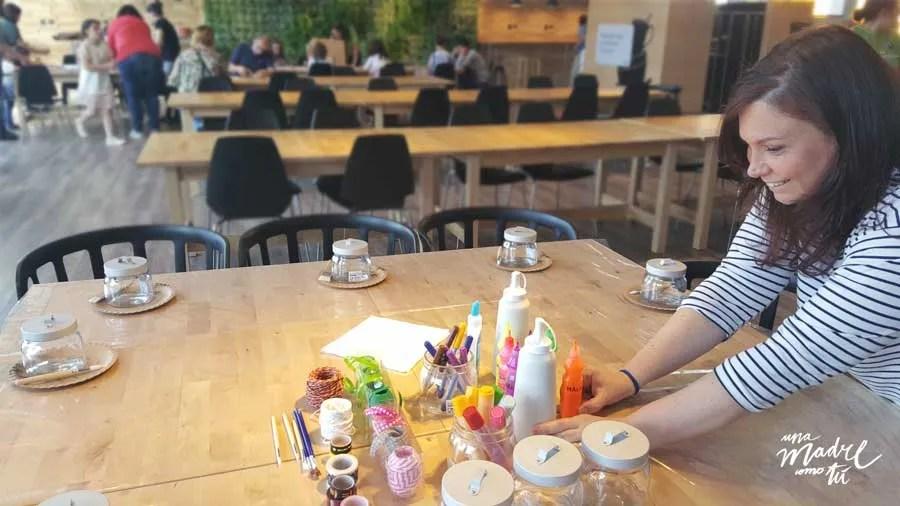 taller Ikea InspirAcción & Una madre como tú