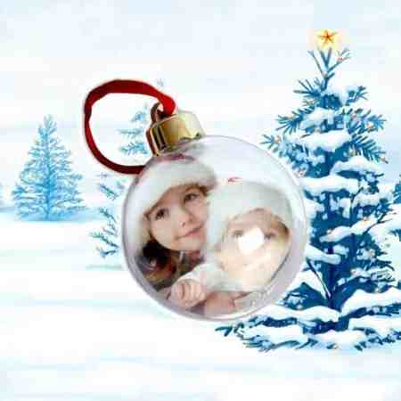 bola navidad personalizada