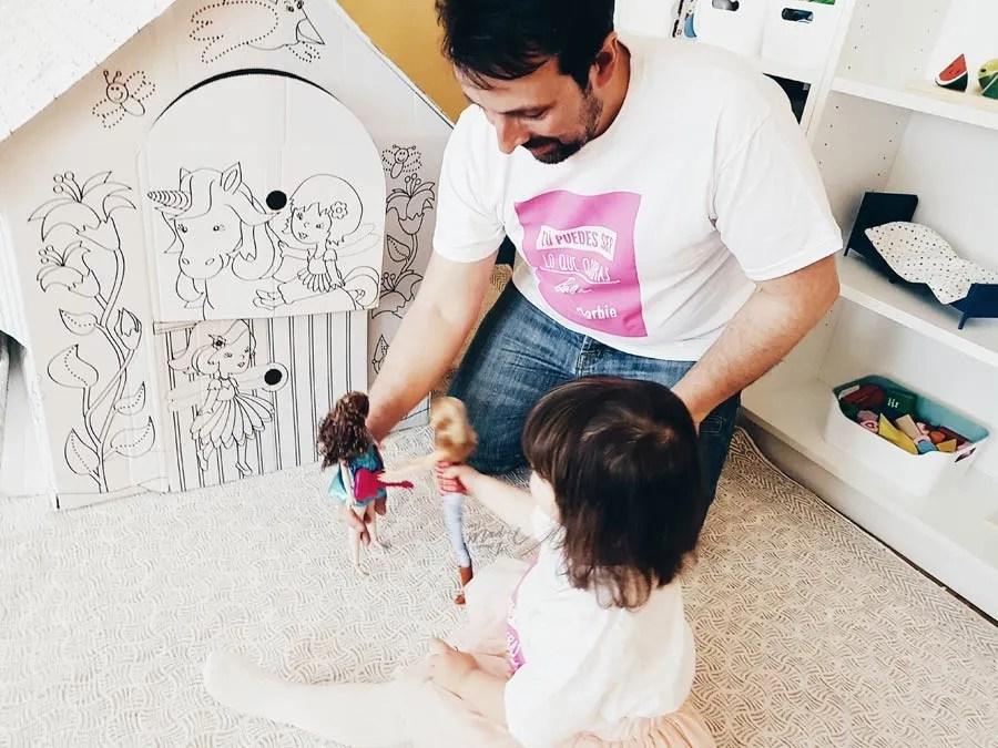 Padres que juegan a muñecas {SORTEO}
