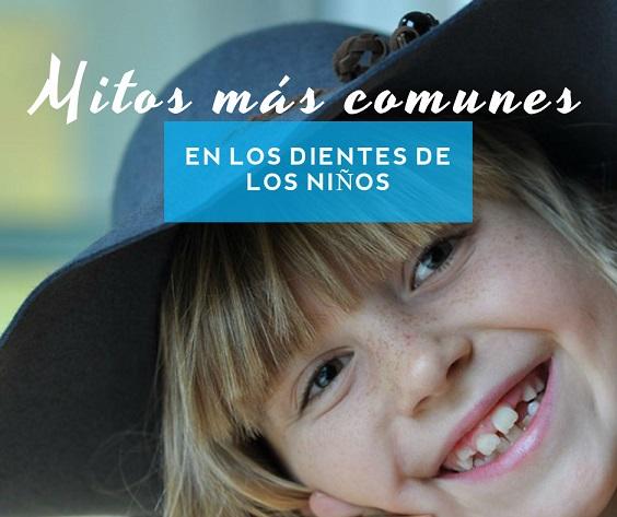 mitos en los dientes de los niños