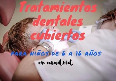 tratamientos dentales gratis para niños