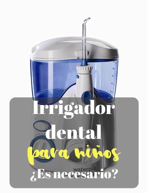 irrigador dental para niños