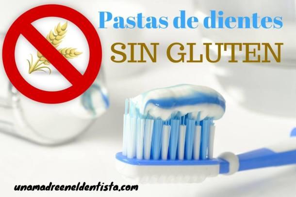 Pasta de dientes sin gluten