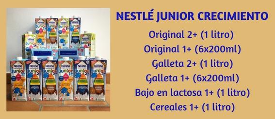 Variedades de Nestlé Junior Crecimiento