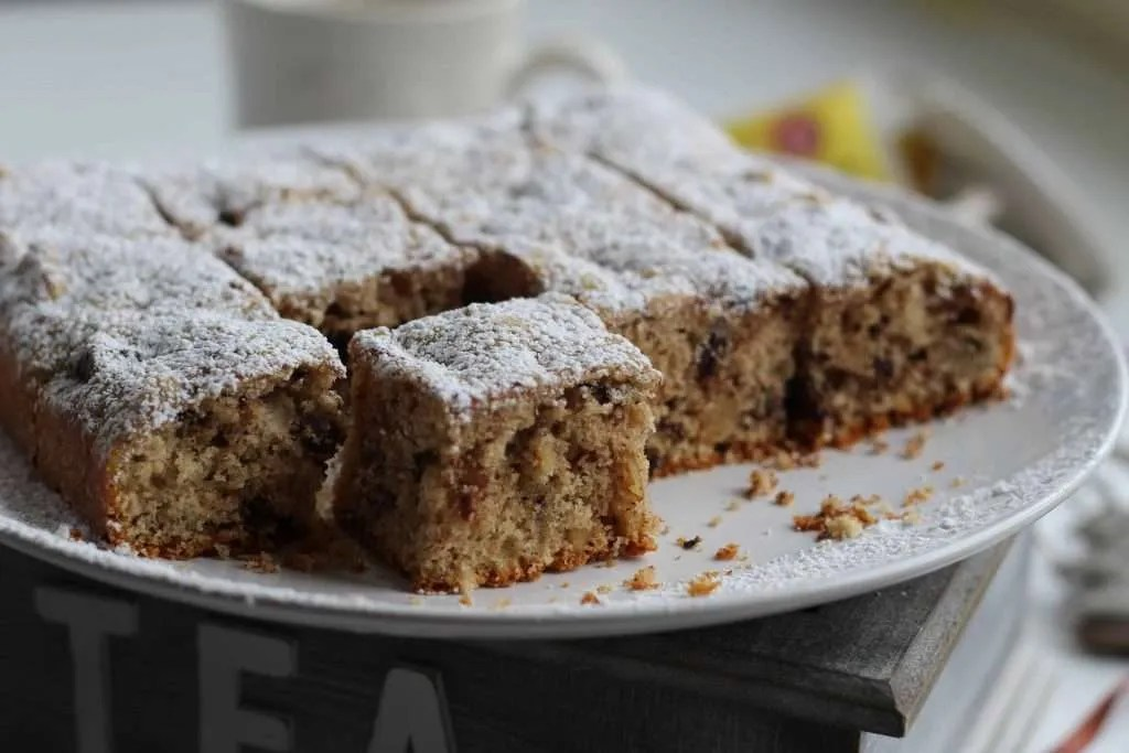 the recipe for chocolate walnut blondies