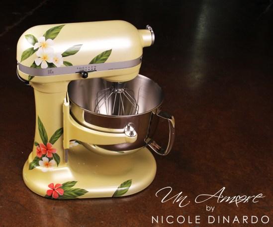 Plumeria Mixer Un Amore Custom Designs
