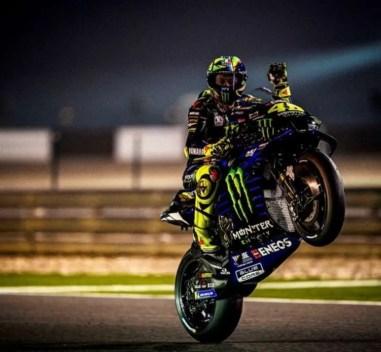 Valentino Rossi en Qatar