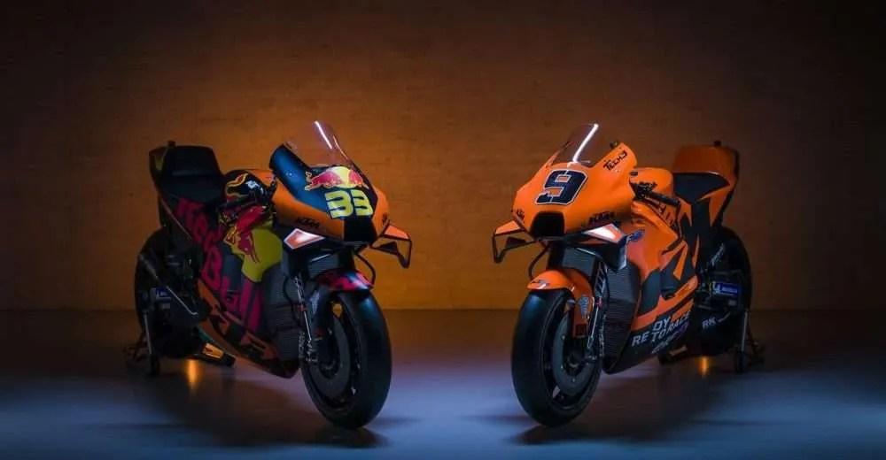Presentación KTM Factory Racing MotoGP 2021: Sorprendente