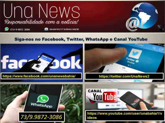 Facebook-Twitter-WhatsApp-Canal YouTube