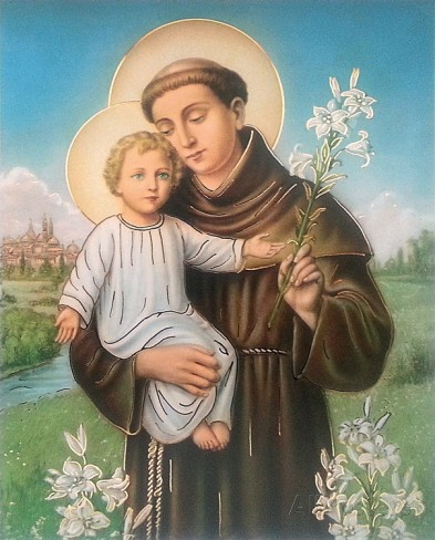 Supplica a Sant'Antonio da fare il 13 del mese o ogni martedì