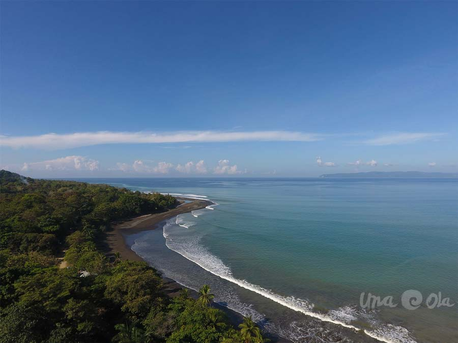 Pavones, Costa Rica from Drone