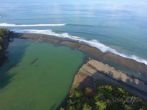 Drone shot of Rio Claro
