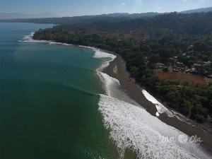 Pavones, Costa Rica from the air