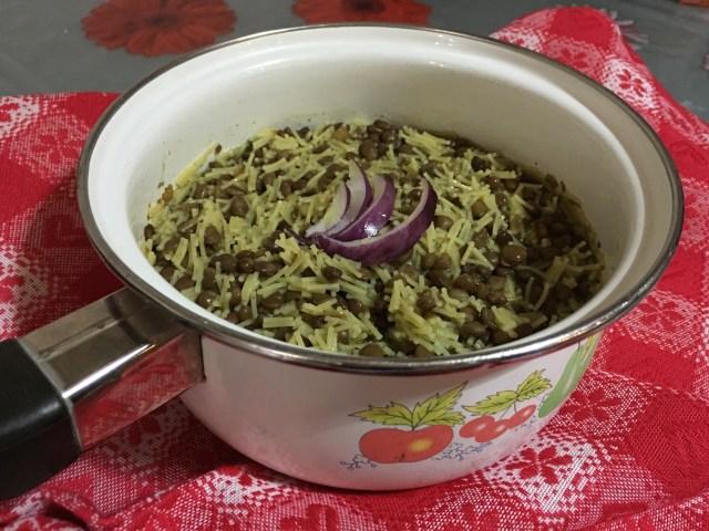 Pasta e Lenticchie veloce - www.unapigraincucina.com