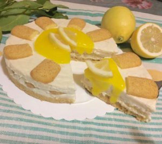 Cheesecake al Limone Senza Colla di Pesce 10