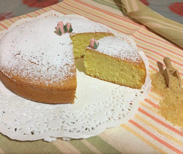 Torta Farina di Riso e Yogurt