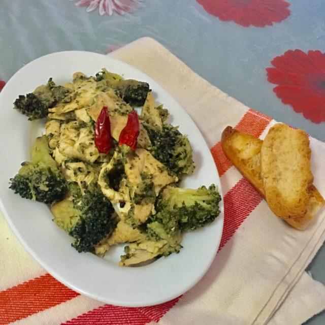 Straccetti di Pollo e Broccoli