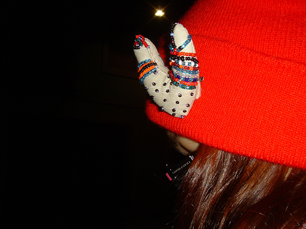 I found a red knitted hat among C s possessions in 2013 2014. I have no  idea where it came from 9a8ba5ec7820