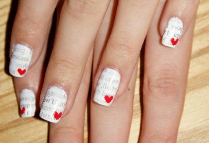 Uñas De San Valentín Diseños Y Decoración 40 Imágenes