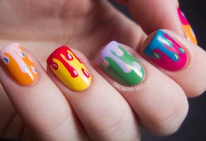 Diseños De Uñas En Colores Uñasdecoradas Club