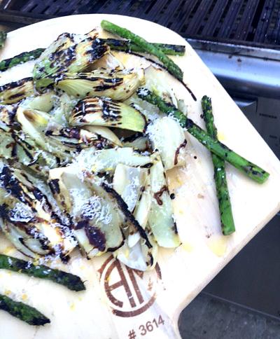 Grilled Asparagus / Parmagiano Reggiano