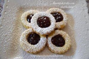 biscotti frolla marmellata