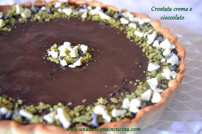 crostata crema cioccolato