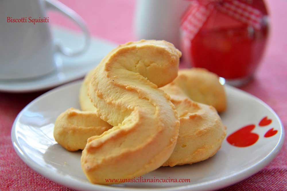 Biscotti Squisiti Siciliani ragusani