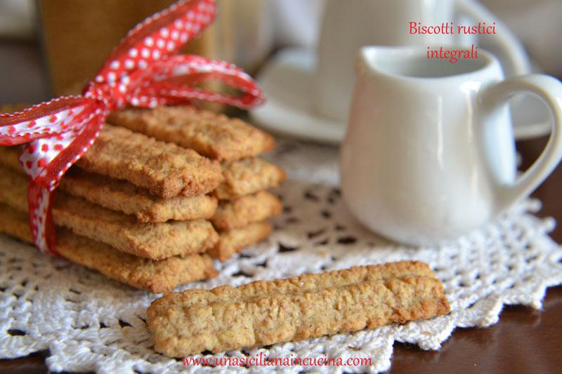 biscotti rustici integrali