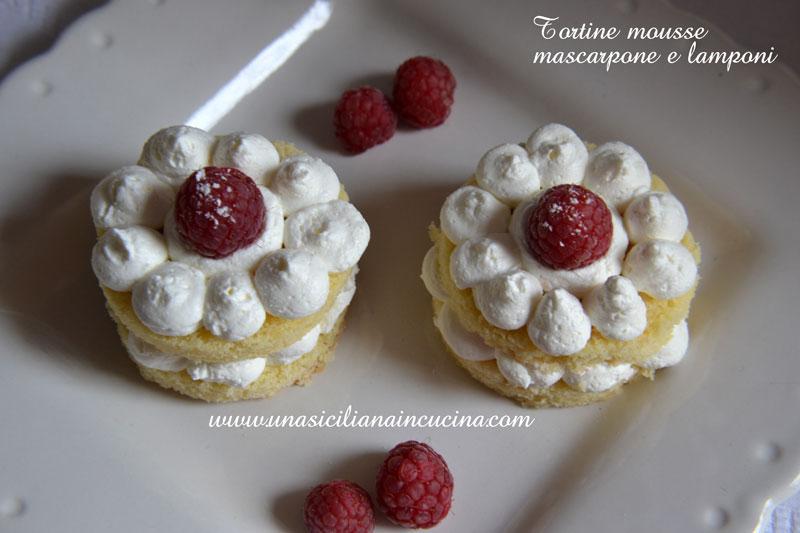 tortine mascarpone lamponi