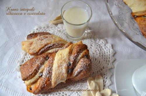 kranz integrali albicocca e cioccolato
