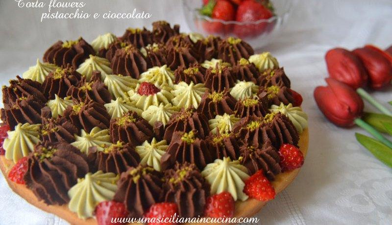 torta-flowers-pistacchio-e-cioccolato