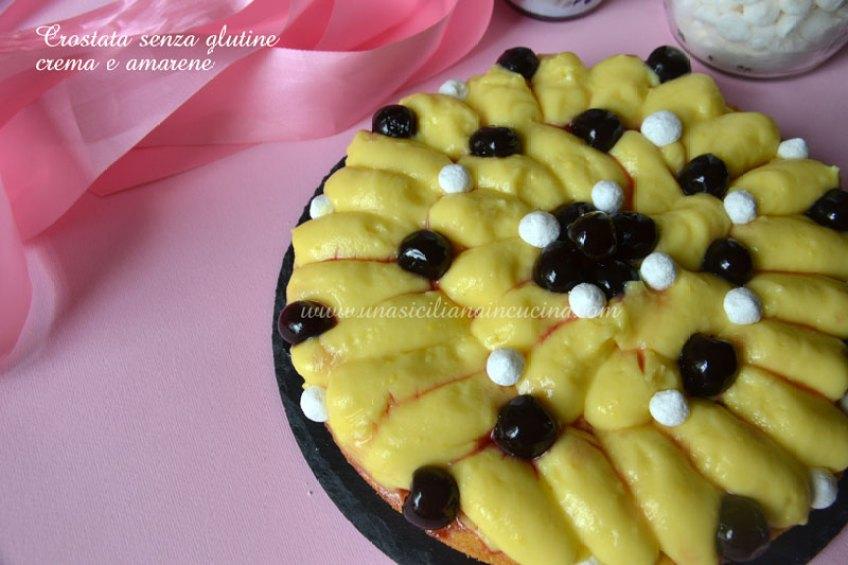 crostata-crema-e-amarene-senza-glutine